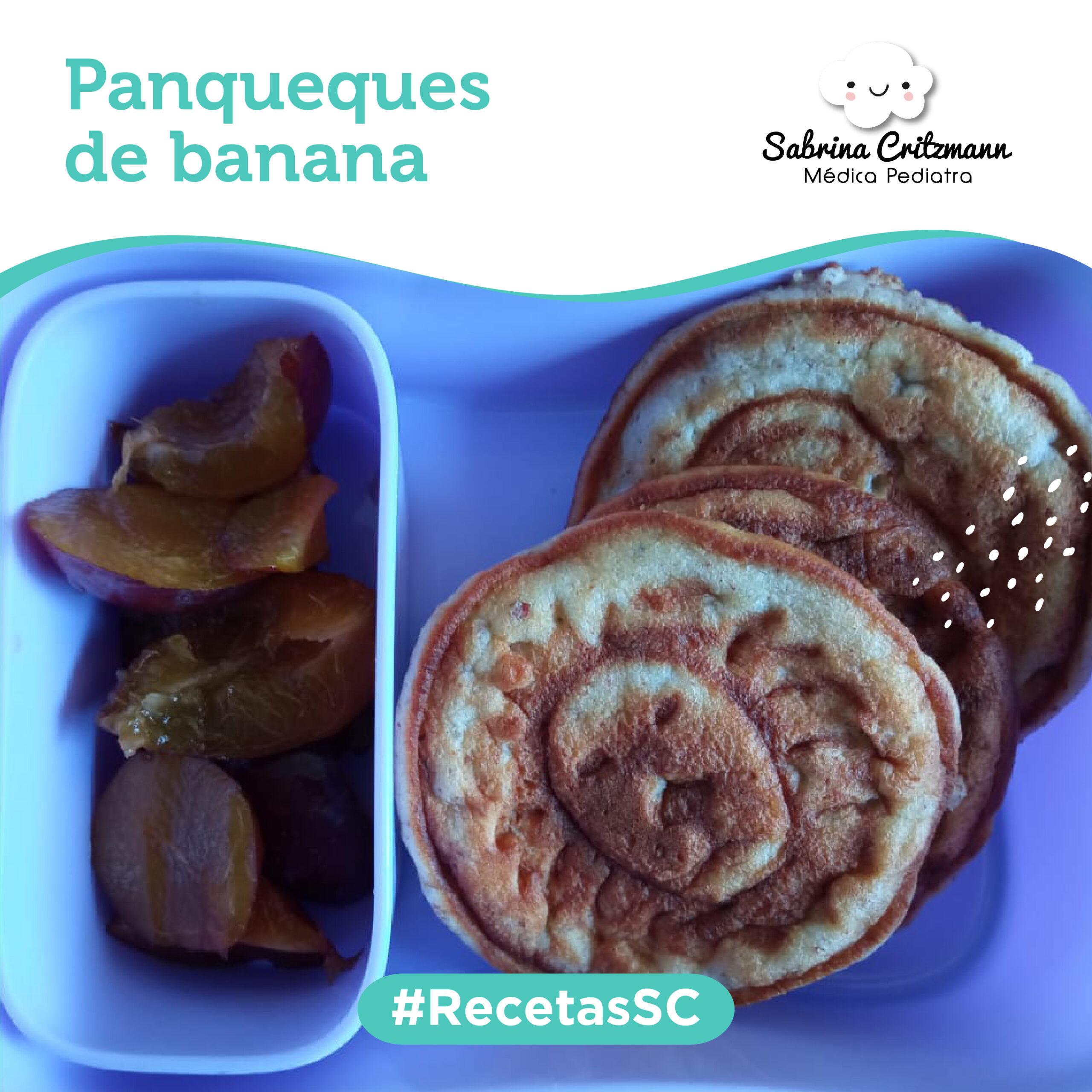 panqueques de banana