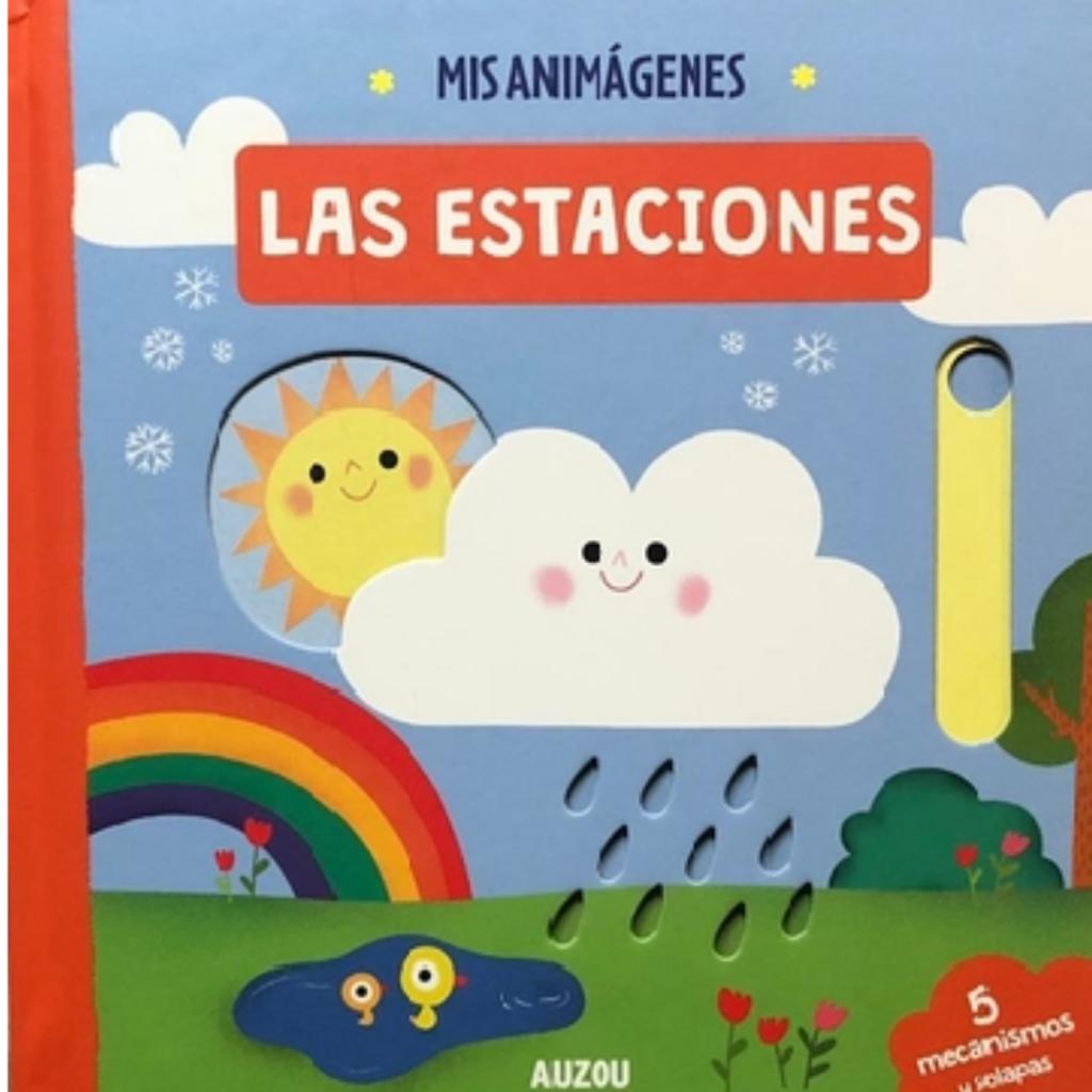 reseña del libro Mis Animagenes: Las Estaciones