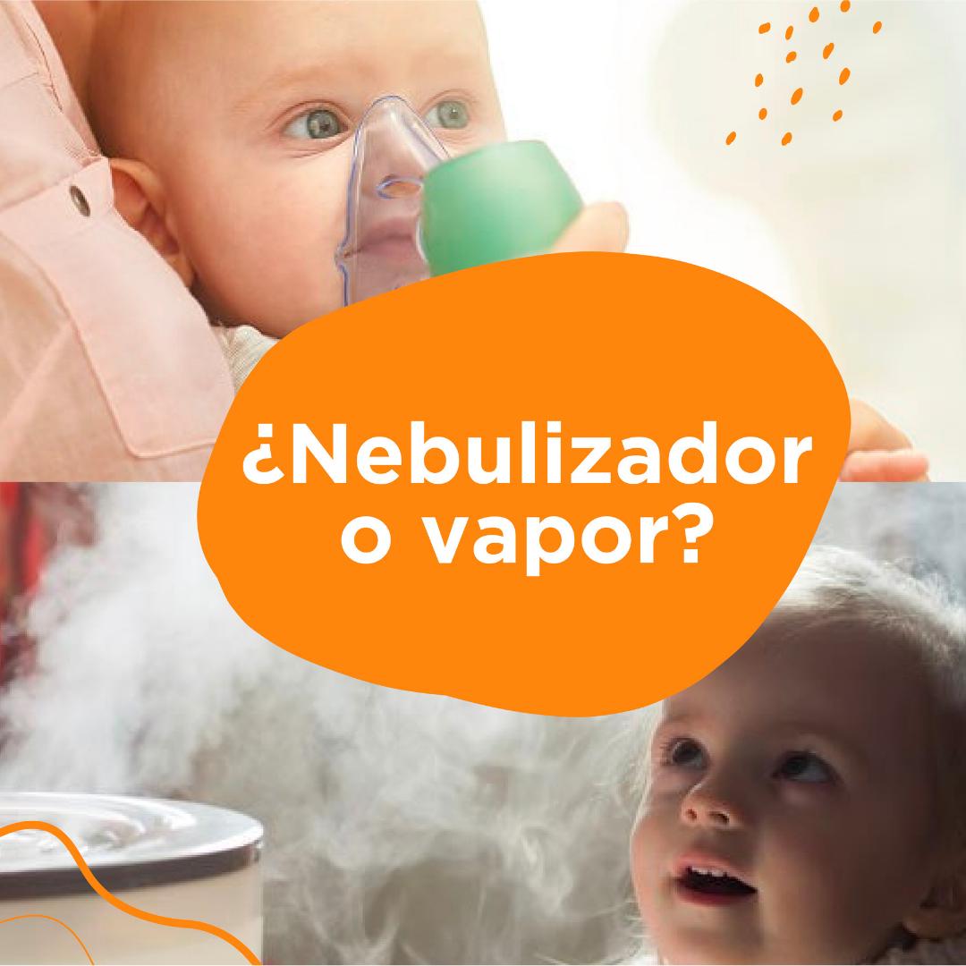 ¿Qué es mejor las nebulizaciones o el vapor?