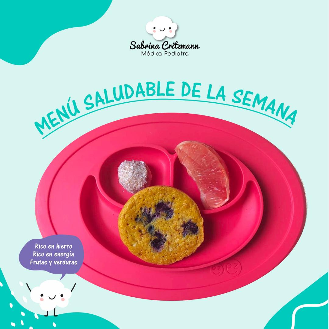 menu saludable para niños y niñas